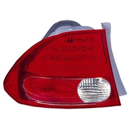 Tail Lamp Driver Side Sedan Honda Civic 2006-2008 | Hunt Auto Parts | Canadian Car Body Parts Store | Painted & Non-painted | HO2800166V