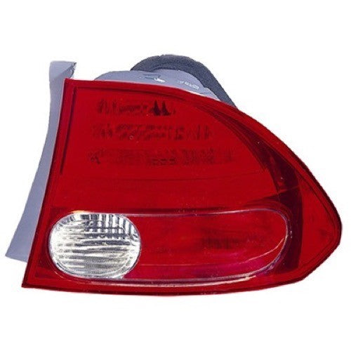 Tail Lamp Passenger Side Sedan High Quality Honda Civic 2006-2008 | Hunt Auto Parts | Canadian Car Body Parts Store | Painted & Non-painted | HO2801165