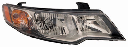 Head Lamp Passenger Side Coupe 10/12/2009-2013 High Quality Kia Forte 2009-2013 | Hunt Auto Parts | Canadian Car Body Parts Store | Painted & Non-painted | KI2503144