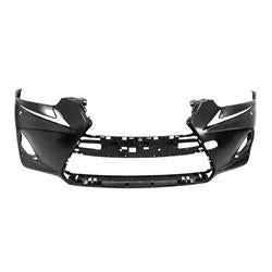2017 Lexus Is200T Bumper Front Primed Without Sensor/F-Sport With Washer