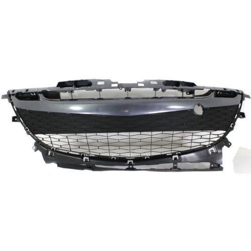 Grille Lower Paintable Use With Ma1000224 Cover Mazda 3 2010-2011 | Hunt Auto Parts | Canadian Car Body Parts Store | Painted & Non-painted | MA1036114