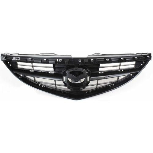 Grille Black Textured Mazda 6 2009-2013 | Hunt Auto Parts | Canadian Car Body Parts Store | Painted & Non-painted | MA1200181