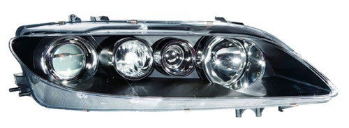 Head Lamp Passenger Side Sport Model Halogen High Quality Mazda 6 2006-2008 | Hunt Auto Parts | Canadian Car Body Parts Store | Painted & Non-painted | MA2503135