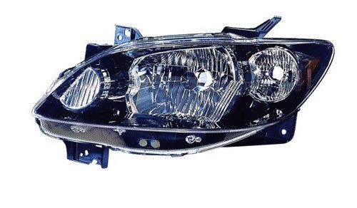2004-2006 Mazda MPV Headlight Driver Side With Rocker Mouldings Driver Side High Quality