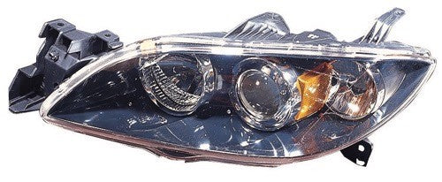Head Lamp Driver Side Sedan With HID High Quality Mazda 3 2004-2006 | Hunt Auto Parts | Canadian Car Body Parts Store | Painted & Non-painted | MA2518113