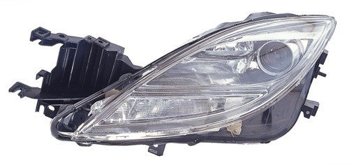 Head Lamp Driver Side Halogen High Quality Mazda 6 2009-2010 | Hunt Auto Parts | Canadian Car Body Parts Store | Painted & Non-painted | MA2518127