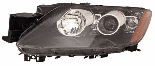 Head Lamp Driver Side With HID Without Bulb/Module High Quality Mazda CX-7 2007 | Hunt Auto Parts | Canadian Car Body Parts Store | Painted & Non-painted | MA2518131