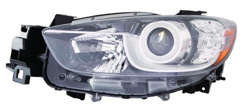 Head Lamp Driver Side Halogen High Quality Mazda CX-5 2013-2016 | Hunt Auto Parts | Canadian Car Body Parts Store | Painted & Non-painted | MA2518146
