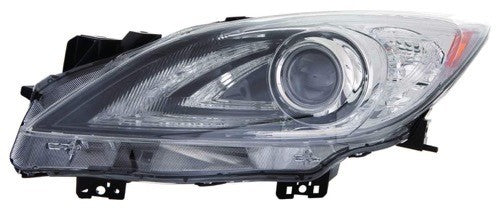 Head Lamp Driver Side Without Auto Level Control Without Drl HID High Quality Mazda 3 2010-2011 | Hunt Auto Parts | Canadian Car Body Parts Store | Painted & Non-painted | MA2518152