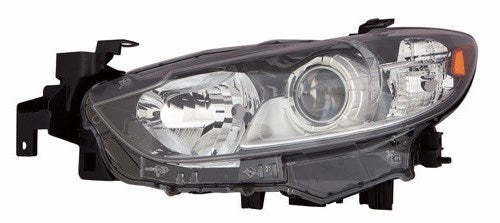 2014-2017 Mazda 6 Headlight Driver Side Halogen High Quality