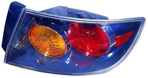 Tail Lamp Passenger Side Sedan Sport High Quality Mazda 3 2004-2006 | Hunt Auto Parts | Canadian Car Body Parts Store | Painted & Non-painted | MA2801127