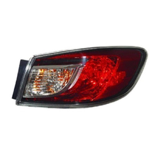 Tail Lamp Passenger Side Without Led Sedan High Quality Mazda 3 2010-2013 | Hunt Auto Parts | Canadian Car Body Parts Store | Painted & Non-painted | MA2801144