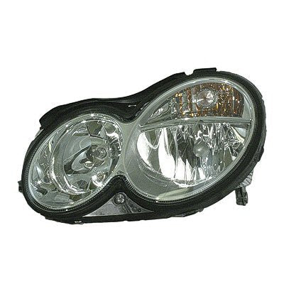 Head Lamp Driver Side Halogen Clk Models High Quality Mercedes C-Class 2008-2009 | Hunt Auto Parts | Canadian Car Body Parts Store | Painted & Non-painted | MB2502173