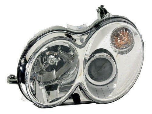 Head Lamp Driver Side Without Curve Lighting Without Bulb/Module Clk Models High Quality Mercedes C-Class 2008-2009 | Hunt Auto Parts | Canadian Car Body Parts Store | Painted & Non-painted | MB2518102
