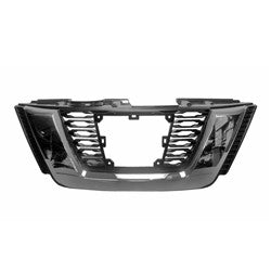 2017-2019 Nissan Rogue Grille Front Glossy Black With Chrome Moulding/ Camera/Adaptive Cruise Sl/Sl-Premium/Sl-Platinum Package