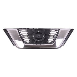 2017-2018 Nissan Rogue Grille Front Matte Black Without Camera USA/Korea Built 17-18/Japan 2017
