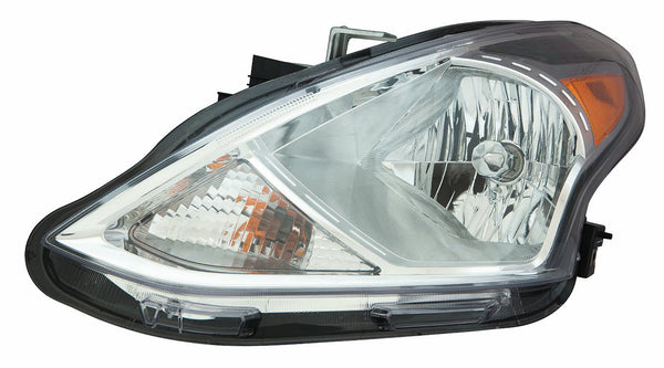 Head Lamp Driver Side Sedan Halogen High Quality Nissan VERSA SEDAN 2015-2017 | Hunt Auto Parts | Canadian Car Body Parts Store | Painted & Non-painted | NI2502230