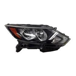 2017-2019 Nissan Rogue Sport Head Light Passenger Side Halogen Without Led High Quality