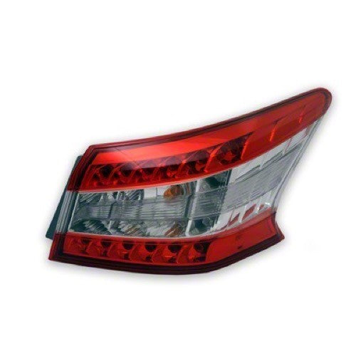 Tail Lamp Passenger Side High Quality Nissan SENTRA 2013-2015 | Hunt Auto Parts | Canadian Car Body Parts Store | Painted & Non-painted | NI2805100