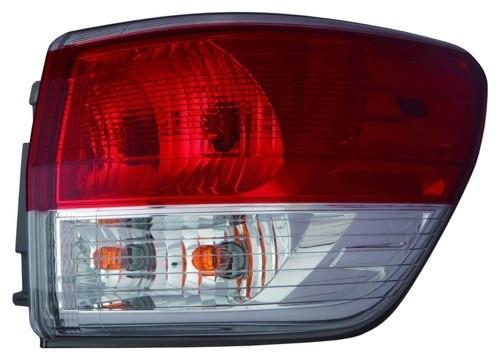 Tail Lamp Passenger Side High Quality Nissan PATHFINDER 2013-2016 | Hunt Auto Parts | Canadian Car Body Parts Store | Painted & Non-painted | NI2805101