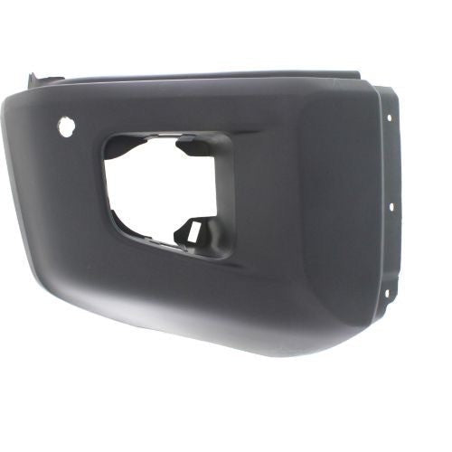 Bumper End Front Passenger Side Matt-Dk Grey With Sensor Hole Platinum Mode Awd/Rwd Toyota Tundra 2014-2017 | Hunt Auto Parts | Canadian Car Body Parts Store | Painted & Non-painted | TO1005183