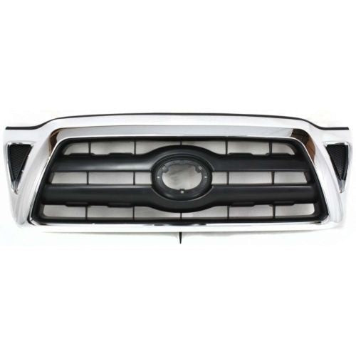 Grille Chrome/Black Toyota Tacoma 2005-2011 | Hunt Auto Parts | Canadian Car Body Parts Store | Painted & Non-painted | TO1200268