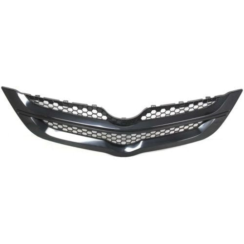 Grille Matt-Black Sedan High Quality Toyota Yaris 2007-2008 | Hunt Auto Parts | Canadian Car Body Parts Store | Painted & Non-painted | TO1200294
