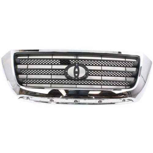 Grille Limited Grey With Chrome Frame Toyota Tundra 2007-2009 | Hunt Auto Parts | Canadian Car Body Parts Store | Painted & Non-painted | TO1200303
