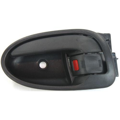 Door Handle Inner Front Driver Side Hatchback Textured Black Toyota Yaris 2006-2011 | Hunt Auto Parts | Canadian Car Body Parts Store | Painted & Non-painted | TO1352152