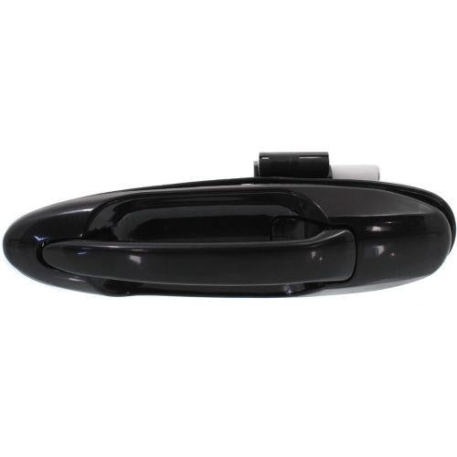 Door Handle Outer Rear Driver Side Black Double Cab Toyota Tundra 2000-2006 | Hunt Auto Parts | Canadian Car Body Parts Store | Painted & Non-painted | TO1520123