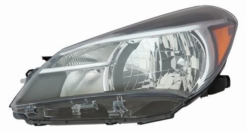 Head Lamp Driver Side Halogen Hatchback Ce/L/Le High Quality Toyota Yaris 2015-2017 | Hunt Auto Parts | Canadian Car Body Parts Store | Painted & Non-painted | TO2502226