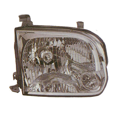 2005-2006 Toyota Tundra Headlight Passenger Side Double Cab High Quality