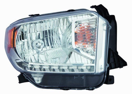 Head Lamp Passenger Side Sr/Sr5/Limited Halogen Without Level Adjuster High Quality Toyota Tundra 2014-2017 | Hunt Auto Parts | Canadian Car Body Parts Store | Painted & Non-painted | TO2503218