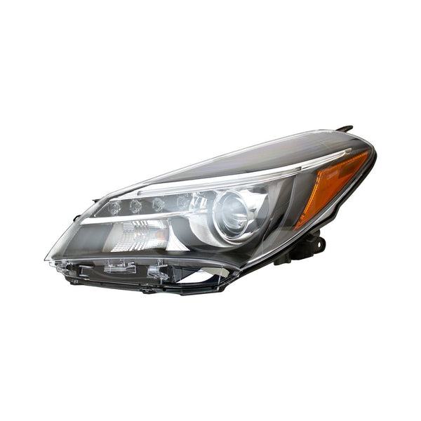 Head Lamp Driver Side Halogen With Led Drlhatchback/Se Model High Quality Toyota Yaris 2015-2017 | Hunt Auto Parts | Canadian Car Body Parts Store | Painted & Non-painted | TO2518151