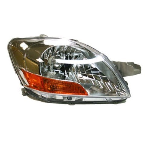 Head Lamp Passenger Side Sedan High Quality Toyota Yaris 2007-2011 | Hunt Auto Parts | Canadian Car Body Parts Store | Painted & Non-painted | TO2519108