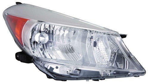 Head Lamp Passenger Side Hatchback L Le High Quality Toyota Yaris 2012-2014 | Hunt Auto Parts | Canadian Car Body Parts Store | Painted & Non-painted | TO2519132