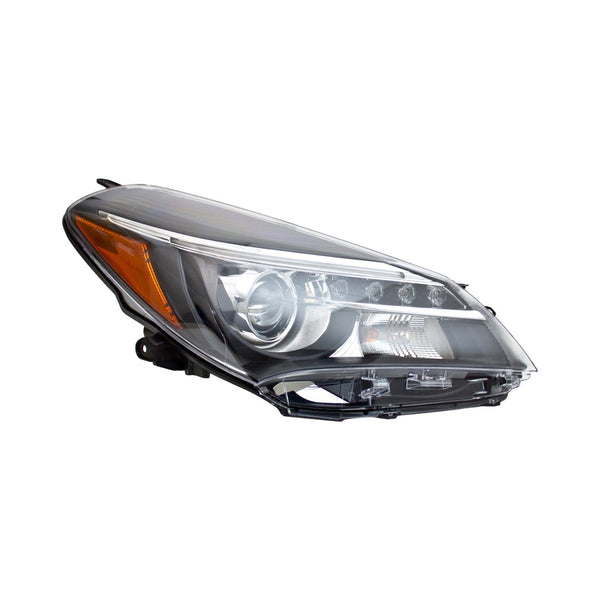 Head Lamp Passenger Side Halogen With Led Drlhatchback/Se Model High Quality Toyota Yaris 2015-2017 | Hunt Auto Parts | Canadian Car Body Parts Store | Painted & Non-painted | TO2519151