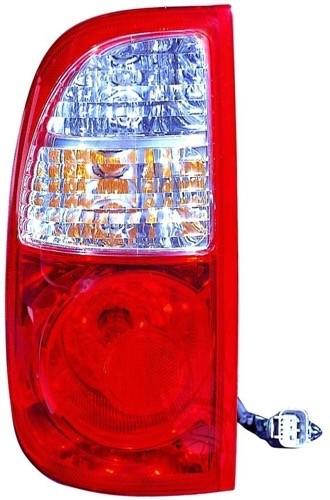 Tail Lamp Driver Side Regular/Access Cab White/Red Toyota Tundra 2005-2006 | Hunt Auto Parts | Canadian Car Body Parts Store | Painted & Non-painted | TO2800161V
