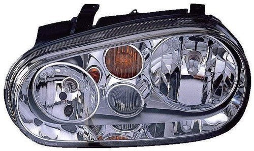 Head Lamp Driver Side With Fog High Quality Volkswagen Golf 2002-2006 | Hunt Auto Parts | Canadian Car Body Parts Store | Painted & Non-painted | VW2502126