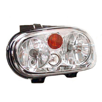 Head Lamp Passenger Side Without Fog Lamp High Quality Volkswagen Golf 2002-2006 | Hunt Auto Parts | Canadian Car Body Parts Store | Painted & Non-painted | VW2503123