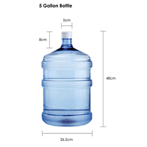 Dr Who 5 Gallon Bottle Refill