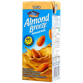 Blue Diamond Almond Breeze Almond Milk with Latte Flavour (180ml)