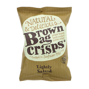 Brown Bag Chips Lightly Salted (20 x 40g)