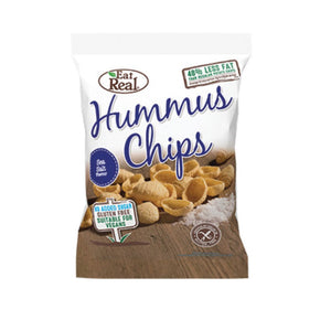 Eat Real Hummus Chips - Sea Salt (12 x 45g)