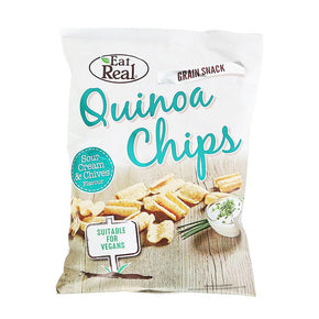Eat Real Quinoa Chips - Cream Chives (12 x 45g)