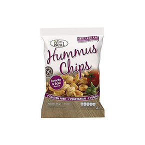 Eat Real Hummus Chips - Tomato & Basil (12 x 45g)