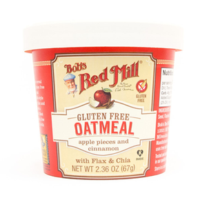 Bob's Red Mill Gluten Free Apple Cinnamon Oatmeal Cup  (67g)