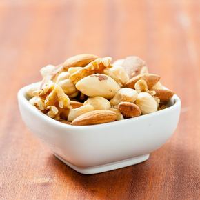 Deluxe Nut Mix - Baked Almond, Baked Cashew, Walnut, Roasted Hazelnut, Brazil Nut (500g)
