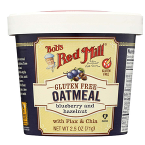 Bob's Red Mill Gluten Free Blueberry Hazel Oatmeal Cup  (71g)