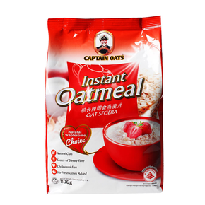 Captain Oats Instant Oatmeal Refill Pack (800g)